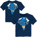 Los Angeles Chargers Girls Toddler Cheerleader Dreams T-Shirt - Navy