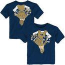 Los Angeles Rams Girls Toddler Cheerleader Dreams T-Shirt - Navy