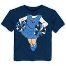 Tennessee Titans Girls Toddler Cheerleader Dreams T-Shirt - Navy