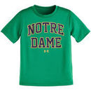 Notre Dame Fighting Irish Youth Workmark Nu Tech T-Shirt - Kelly Green