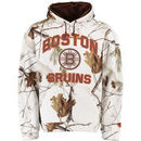 Boston Bruins Old Time Hockey Parot Realtree Camo Hoodie - White