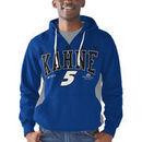 Kasey Kahne G-III Sports by Carl Banks Body Work Pull Over Fleece Hoodie - Royal