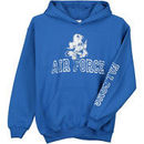 Air Force Falcons New Agenda Youth Hollow Straight Prep Hoodie - Royal