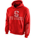 NC State Wolfpack New Agenda Youth Hollow Straight Prep Hoodie - Red