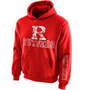 Rutgers Scarlet Knights New Agenda Youth Hollow Straight Prep Hoodie - Scarlet