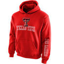 Texas Tech Red Raiders New Agenda Youth Hollow Straight Prep Hoodie - Red