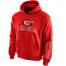 Georgia Bulldogs New Agenda Youth Hollow Straight Prep Hoodie - Red