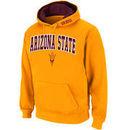 Arizona State Sun Devils Stadium Athletic Arch & Logo Pullover Hoodie - Gold