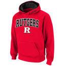 Rutgers Scarlet Knights Stadium Athletic Arch & Logo Pullover Hoodie - Scarlet