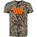 Martin Dale Earnhardt Jr. Checkered Flag TrueTimber All Over Cover T-Shirt - Camo