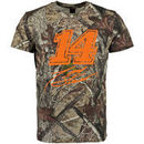 Martin Tony Stewart Checkered Flag TrueTimber All Over Cover T-Shirt - Camo