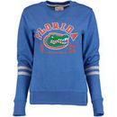 Florida Gators Alta Gracia (Fair Trade) Women's Relaxed Fit Rosaura Pullover Fleece Sweatshirt - Royal