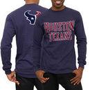 Houston Texans No Huddle Long Sleeve T-Shirt - Navy