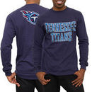 Tennessee Titans No Huddle Long Sleeve T-Shirt - Navy