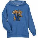 Kentucky Wildcats Original Retro Brand Youth Tri-Blend Pullover Hoodie - Royal