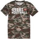 San Francisco 49ers Youth Sublimated Synthetic T-Shirt - Camo