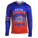New York Giants Klew On the Fifty Matchup Hooded Long Sleeve T-Shirt - Royal