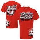 Kevin Harvick #4 Burnout T-Shirt - Red