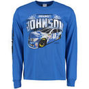 Jimmie Johnson Full Throttle Long Sleeve T-Shirt - Royal
