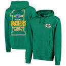 Green Bay Packers Mitchell & Ness On the Fifty Super Bowl XXXI Championship Game Hoodie - Green