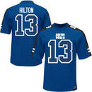 TY Hilton Indianapolis Colts Majestic Hashmark Player Name & Number T-Shirt - Royal