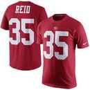 No. 35 Eric Reid San Francisco 49ers Nike Player Pride Name & Number Short Sleeve T-Shirt - Scarlet