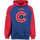 Chicago Cubs Stitches Fleece Raglan Hoodie - Royal