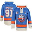 John Tavares New York Islanders Old Time Hockey Youth Current Player Lacer Name & Number Pullover Hoodie - Royal