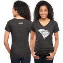 NASCAR Classic Women's Darlington Original Too Tri-Blend V-Neck T-Shirt - Black