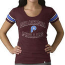 Philadelphia Phillies '47 Women's Off Campus Vintage Logo T-Shirt - Maroon