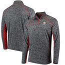 San Francisco Giants Under Armour Twist Tech Quarter-Zip Performance Sweatshirt - Black