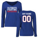 UFC Women's Personalized Legion Name & Number Long Sleeve T-Shirt - Royal