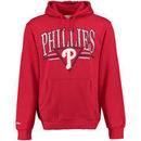 Philadelphia Phillies Mitchell & Ness Abstract Vibes Pullover Hoodie - Red