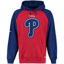 Philadelphia Phillies Stitches Fleece Raglan Hoodie - Red