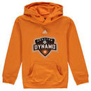 Houston Dynamo adidas Youth Primary Logo Pullover Hoodie - Orange