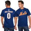 New York Mets Majestic Star Wars Jedi Knight Name & Number T-Shirt - Royal