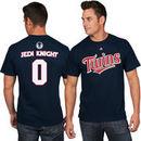 Minnesota Twins Majestic Star Wars Jedi Knight Name & Number T-Shirt - Navy