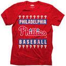 Philadelphia Phillies Majestic Threads Tri-Blend T-Shirt - Red