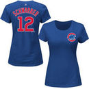 Kyle Schwarber Chicago Cubs Majestic Women's 2016 A Century of Cubs at Wrigley Patch Name & Number T-Shirt - Royal