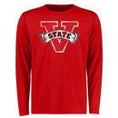 Valdosta State Blazers Big & Tall Classic Primary Long Sleeve T-Shirt - Red