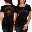 Madison Bumgarner San Francisco Giants Majestic Women's Plus Size Name & Number T-Shirt - Black