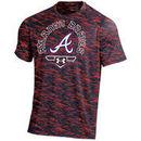 Atlanta Braves Under Armour Novelty Performance T-Shirt - Navy/Red