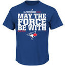 Toronto Blue Jays Majestic May The Force Be Tee - Royal