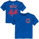 Anthony Rizzo Chicago Cubs Toddler Name & Number T-Shirt - Royal