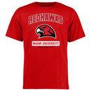 Miami University RedHawks Big & Tall Campus Icon T-Shirt - Red