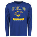 Embry-Riddle Eagles Big & Tall Campus Icon Long Sleeve T-Shirt - Royal