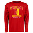 Pittsburg State Gorillas Big & Tall Campus Icon Long Sleeve T-Shirt - Red