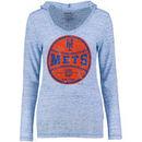 New York Mets Women's Thermal Slub Long Sleeve T-Shirt - Natural