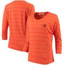Baltimore Orioles Cutter & Buck Women's Annex Stripe Dolman Long Sleeve T-Shirt - Orange