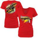 Jamie McMurray Women's McDonald's Fabricator T-Shirt - Heathered Red